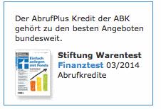 Logo von Finanztest
