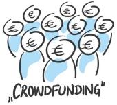 Viele Privatpersonen vergeben Kredite mit Crowdfunding