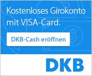 kostenloses DKB-Konto mit Visacard